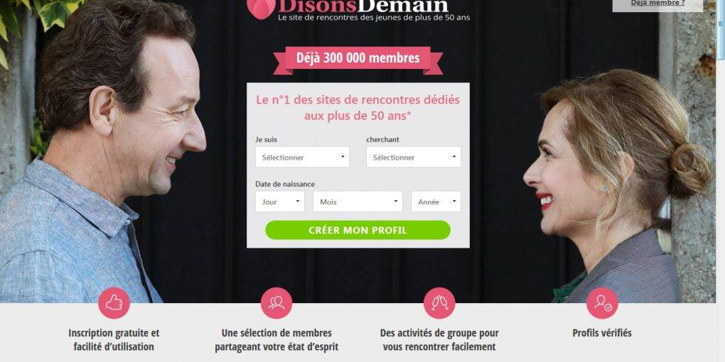 Disons Demain - Rencontre senior