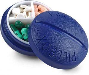 pilulier journée poche