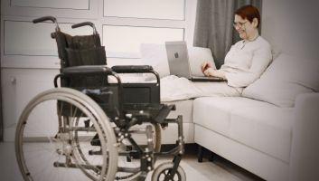 senior fauteuil roulant